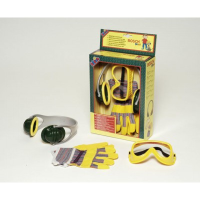 Klein Bosch Set slúchadlá, rukavice, okuliare