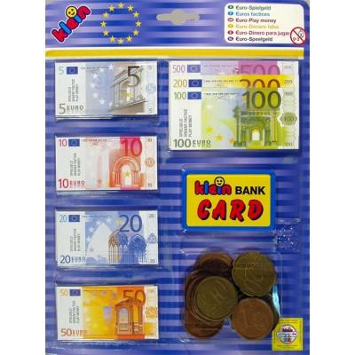 Klein Euro peniaze a karta