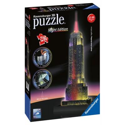 Ravensburger 3D Empire State Building Nočná edícia 216