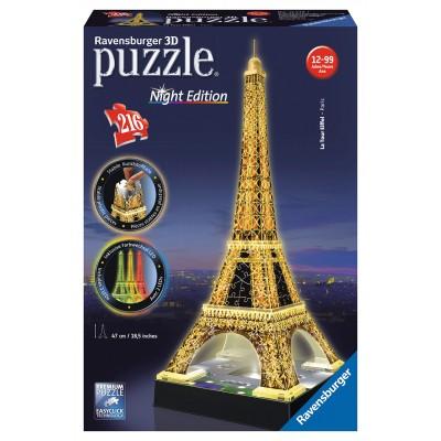 Ravensburger 3D Eiffelova veža Nočná edícia 216