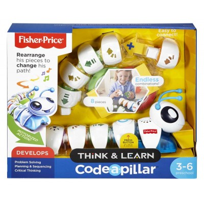 Fisher Price Húsenica Code-a-pillar