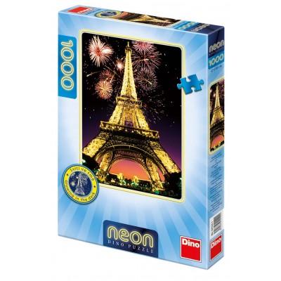 Dino Neon Nočná Eiffelovka 1000