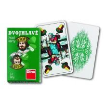 Dino Hracie karty dvojhlavé