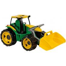 Lena Traktor s lyžicou zeleno-žltý